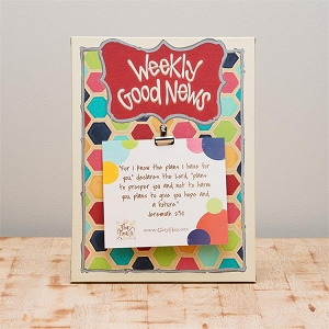 Weekly Good News' Canvas Print