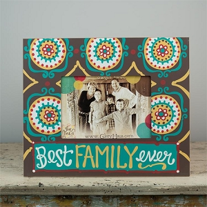 Best Family Ever' Frame