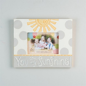 You Are My Sunshine'  Frame - Yellow