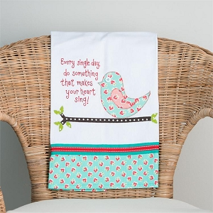 Do Something That Makes You Sing' Tea Towel