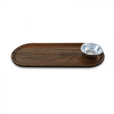 Soho Round Mini Bowl w/ Cutting Board