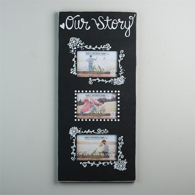 Our Story' 3 Picture Frame