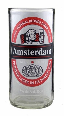Upcycled Amsterdam Beer Tumbler