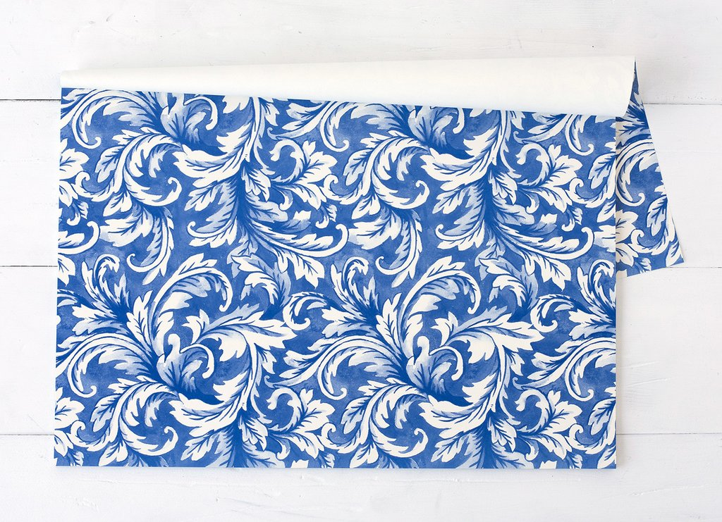 China Blue Acanthus Placemats