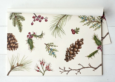 Winter Collage Placemats
