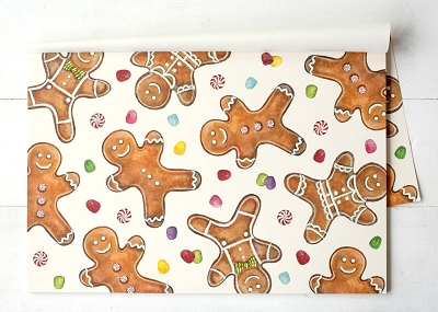 Gingerbread Men Placemats