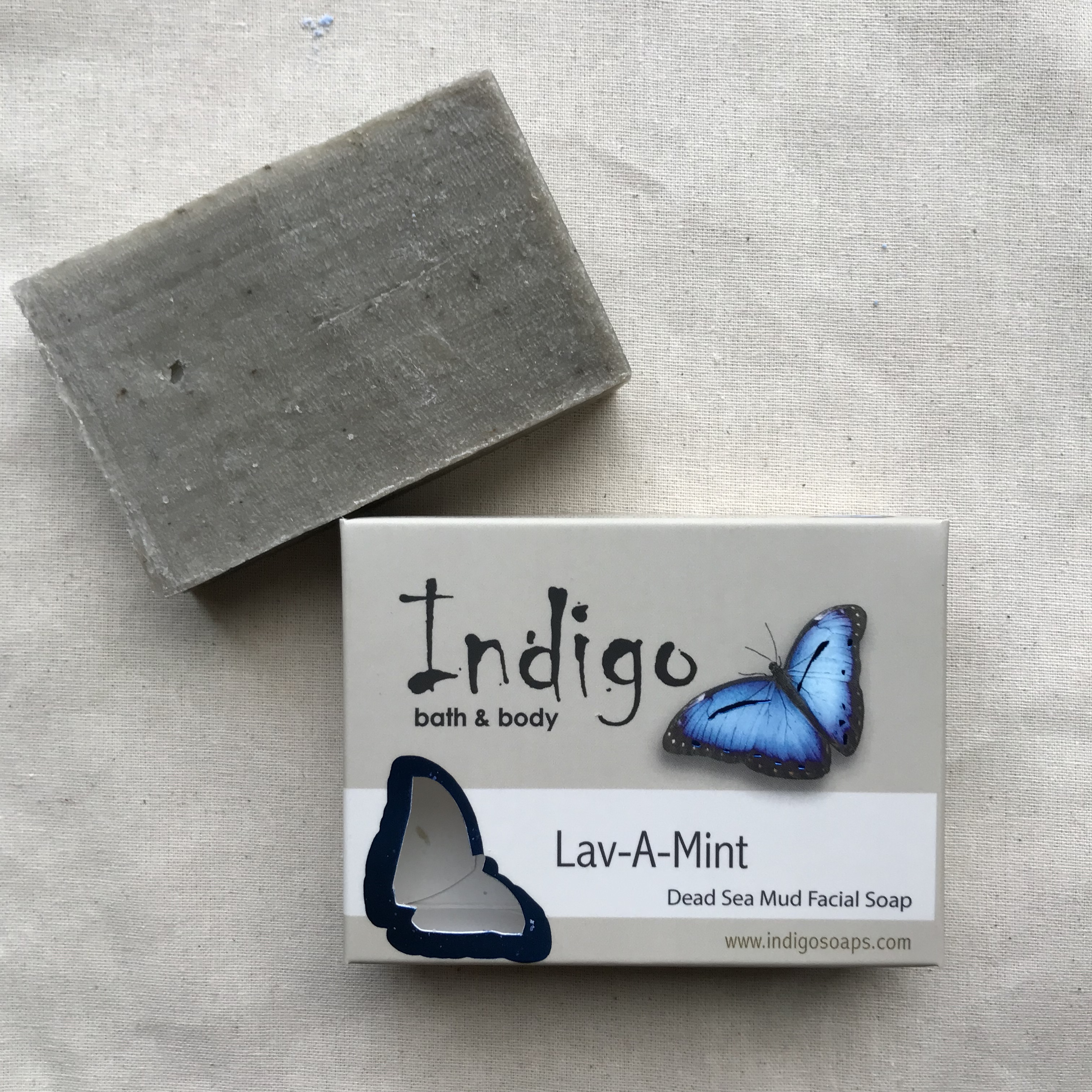 Lav-A-Mint Dead Sea Mud Facial Soap