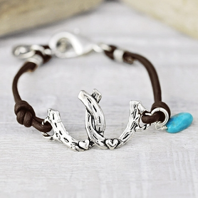'Horses Give You Wings' Bracelet