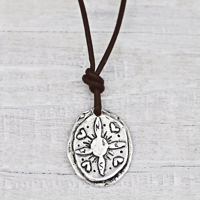 'Not All Who Wander ...'Necklace