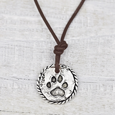 'Love Has Paws' Necklace
