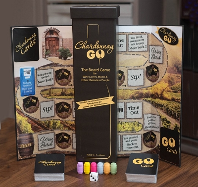 Chardonnay Go Board Game