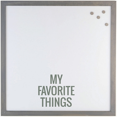 My Favorite Things' Magnet Board