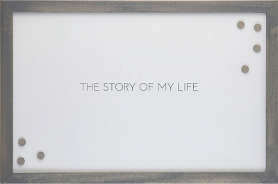 The Story of My Life' Magnet Board