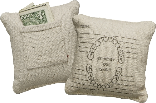 Lost Tooth' Mini Pillow