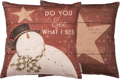 What I See Pillow