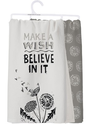 Make a Wish Dish Towel