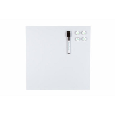 White Magnetic Dry Erase Wallboard