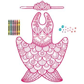 Mermaid Color Your Own Costume
