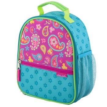 Pink Paisley Garden Lunch Box