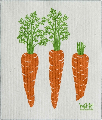 Carrots Swedish Cloth
