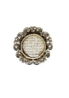 Royal Text Ring