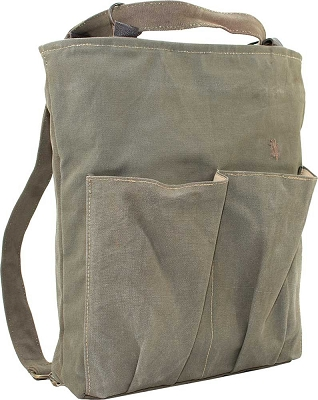 Recycled Military Tent Backpack/Crossbody