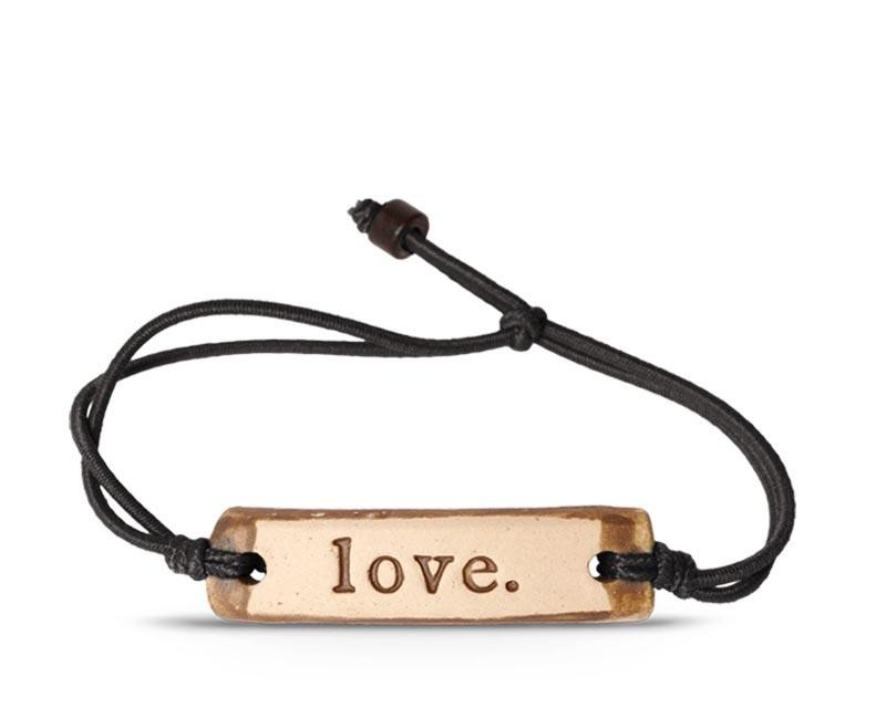 """Love"" Adjustable Bracelet"