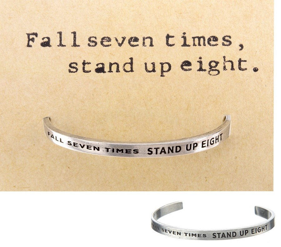 'Fall Seven Times, Stand Up Eight