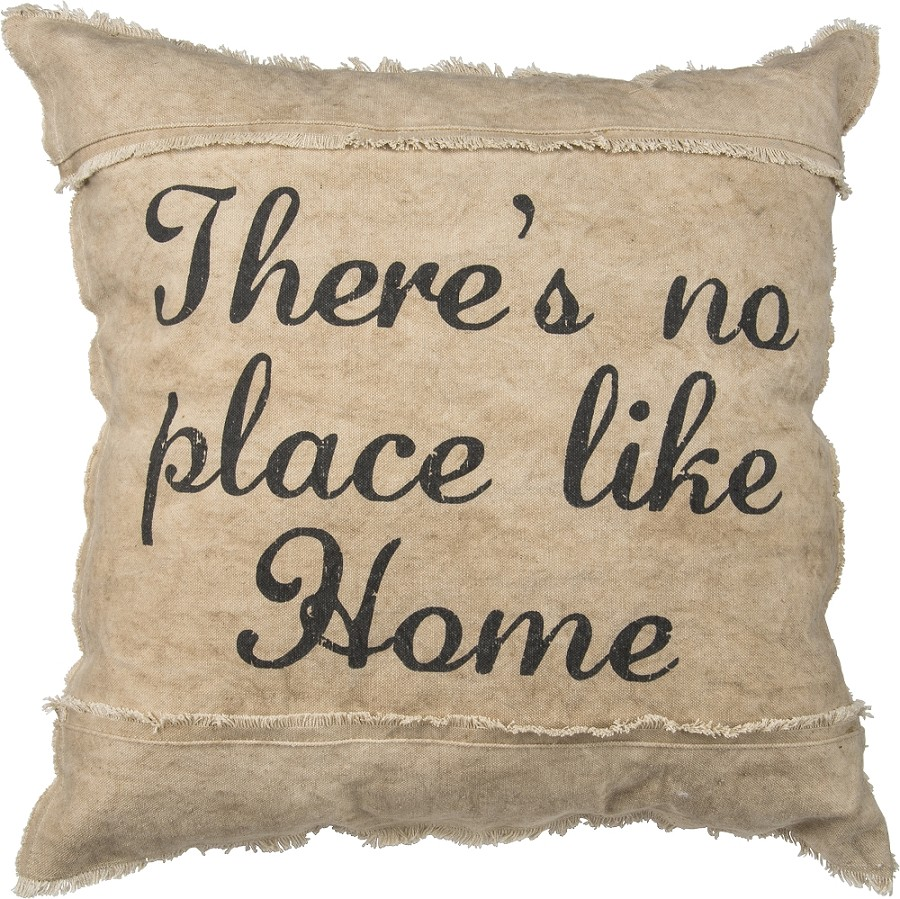 No Place Like Home' Decorative Pillow